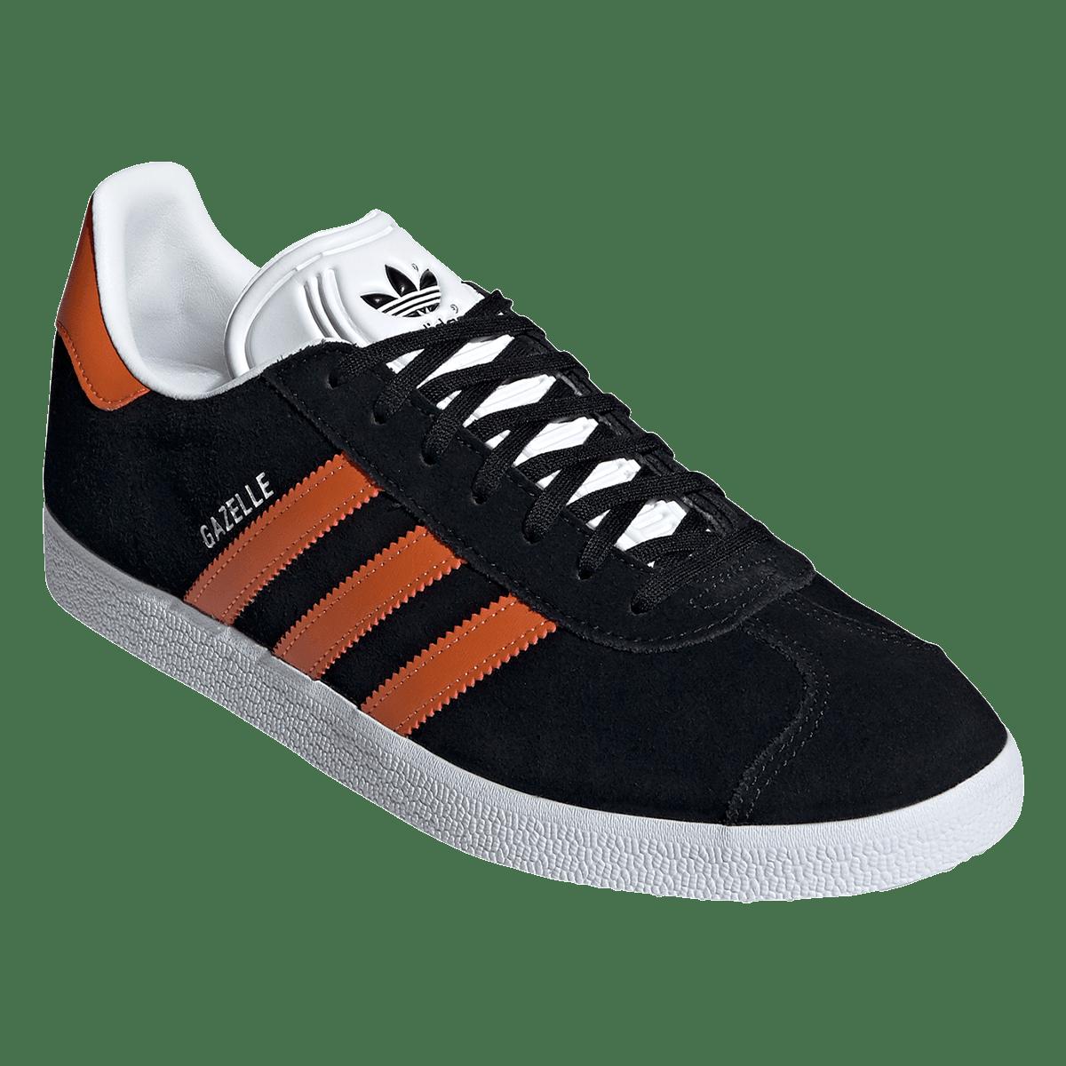 adidas Gazelle loisir chaussure noir / marron