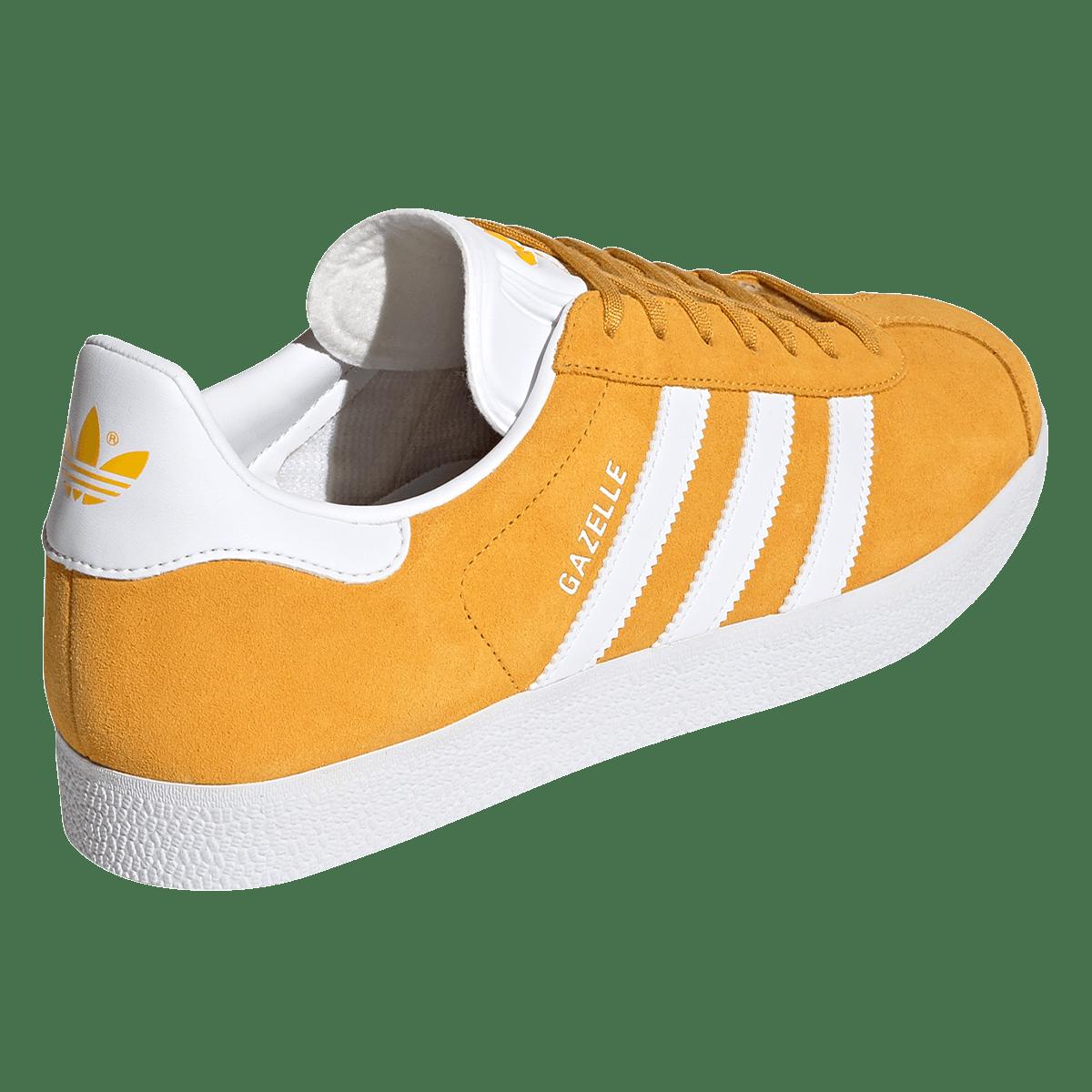 adidas Gazelle loisir chaussure jaune / blanc - Boutique football