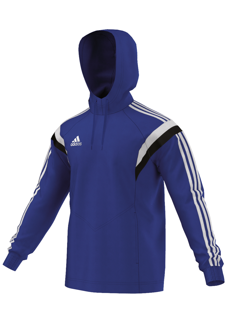 adidas kapuzenpullover condivo 14 hoody blau schwarz fussball shop. Black Bedroom Furniture Sets. Home Design Ideas