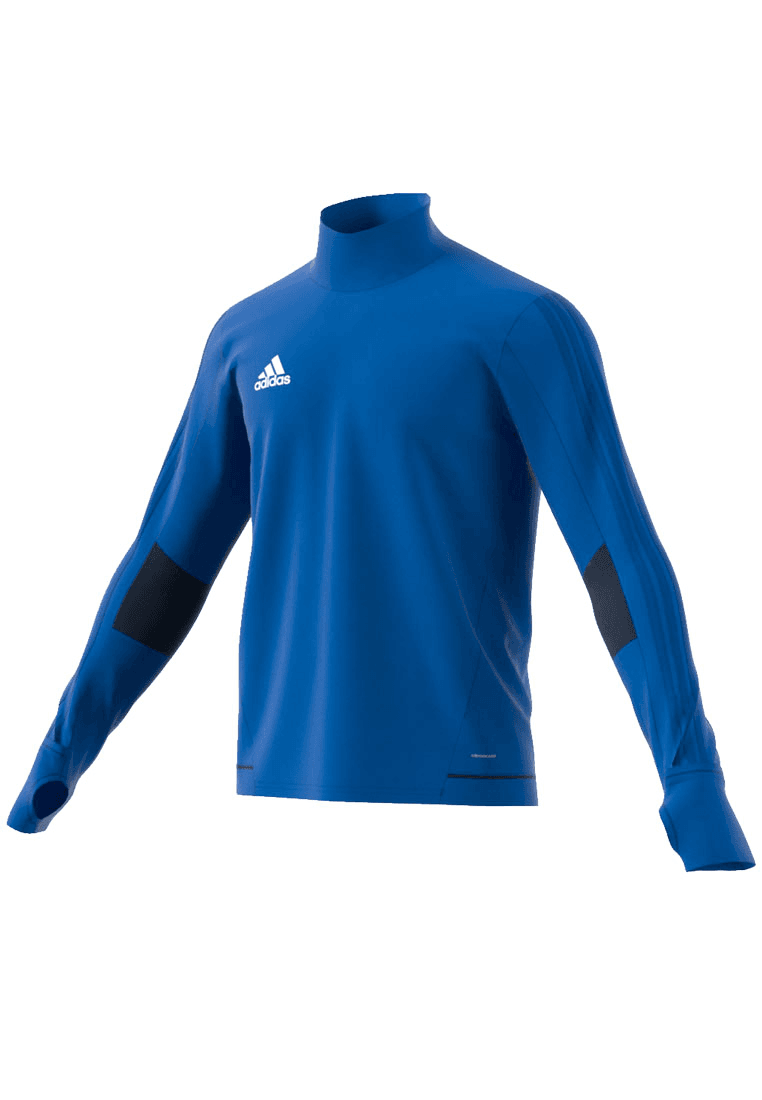 690d263ad29 adidas Sweater Tiro 17 Training Top, blauw/wit - Voetbal shop