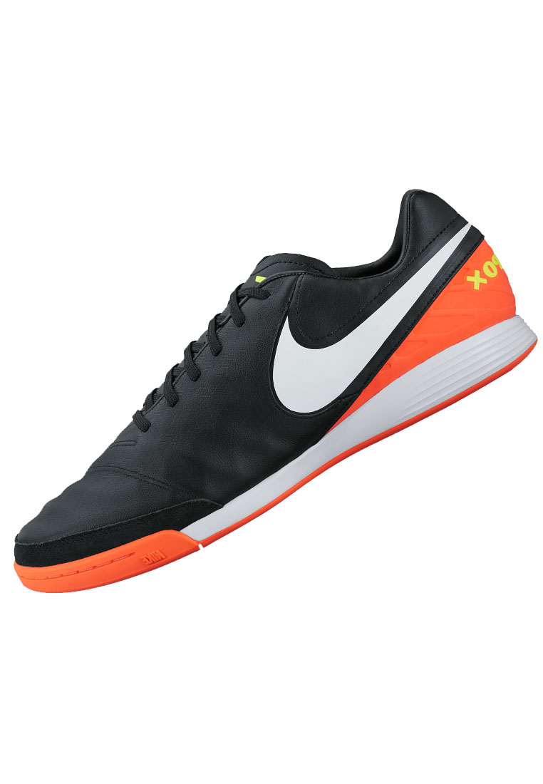 nike hallenschuh tiempo mystic v ic in schwarz orange. Black Bedroom Furniture Sets. Home Design Ideas