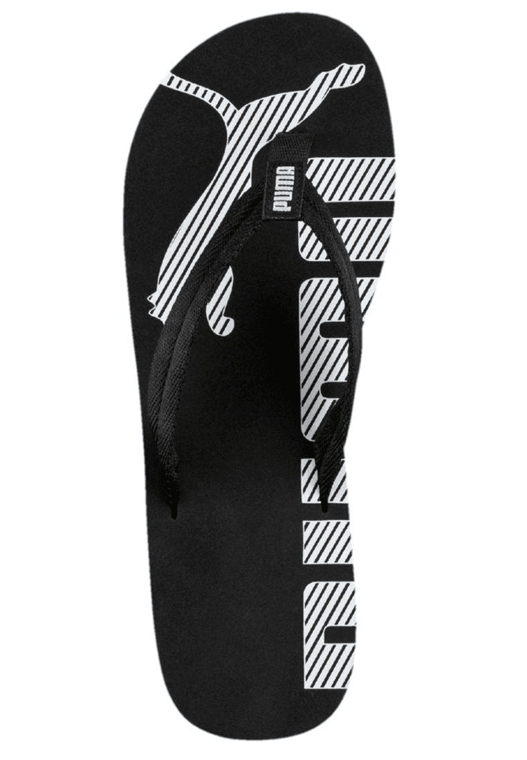 579eaa0dd28 Puma slippers Epic Flip V2 zwart/wit - Voetbal shop