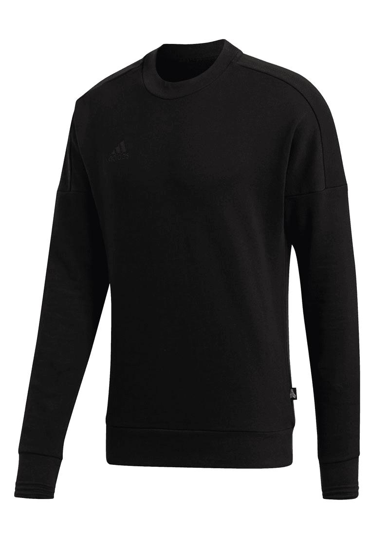 adidas trainingspullover tango sweater crew schwarz/grau