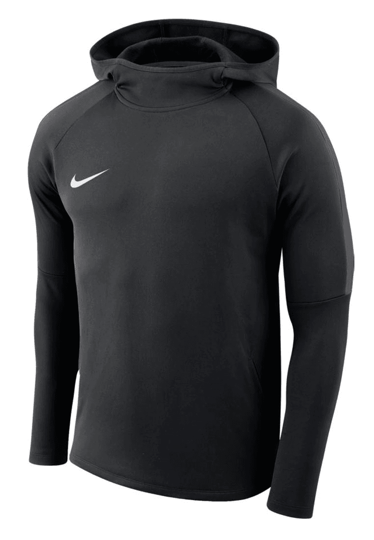 nike kapuzenpullover academy 18 hoody schwarz wei. Black Bedroom Furniture Sets. Home Design Ideas