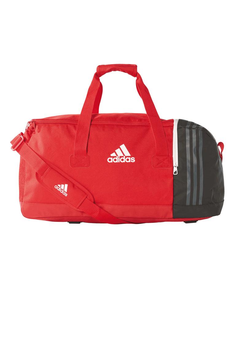 55c76d2cb3c Adidas sporttas Tiro Teambag M rood/zwart - Voetbal shop