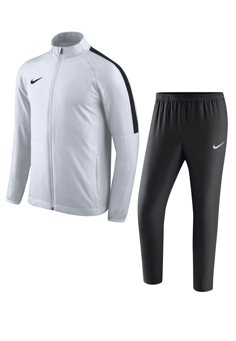 Wonderbaarlijk Nike trainingspak Academy 18 woven tracksuit wit/zwart - Voetbal shop UK-82