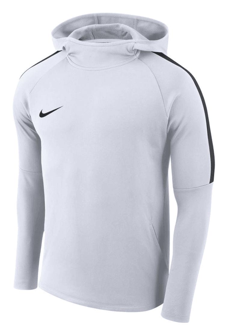 Nike Kapuzenpullover Academy 18 Hoody weiß schwarz - Fussball Shop 1dc5ff3ea0