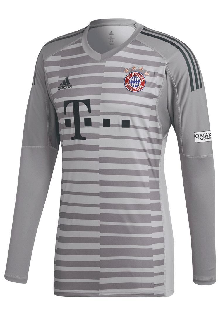 adidas FC Bayern München Herren Torwart Trikot 201819 graudunkelgrün