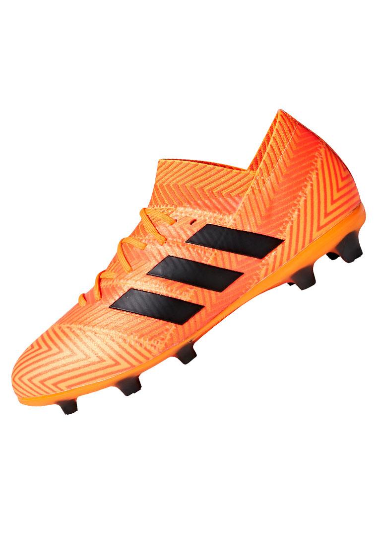 adidas Kinder Fußballschuh Nemeziz 18.1 FG J orange fluoschwarz