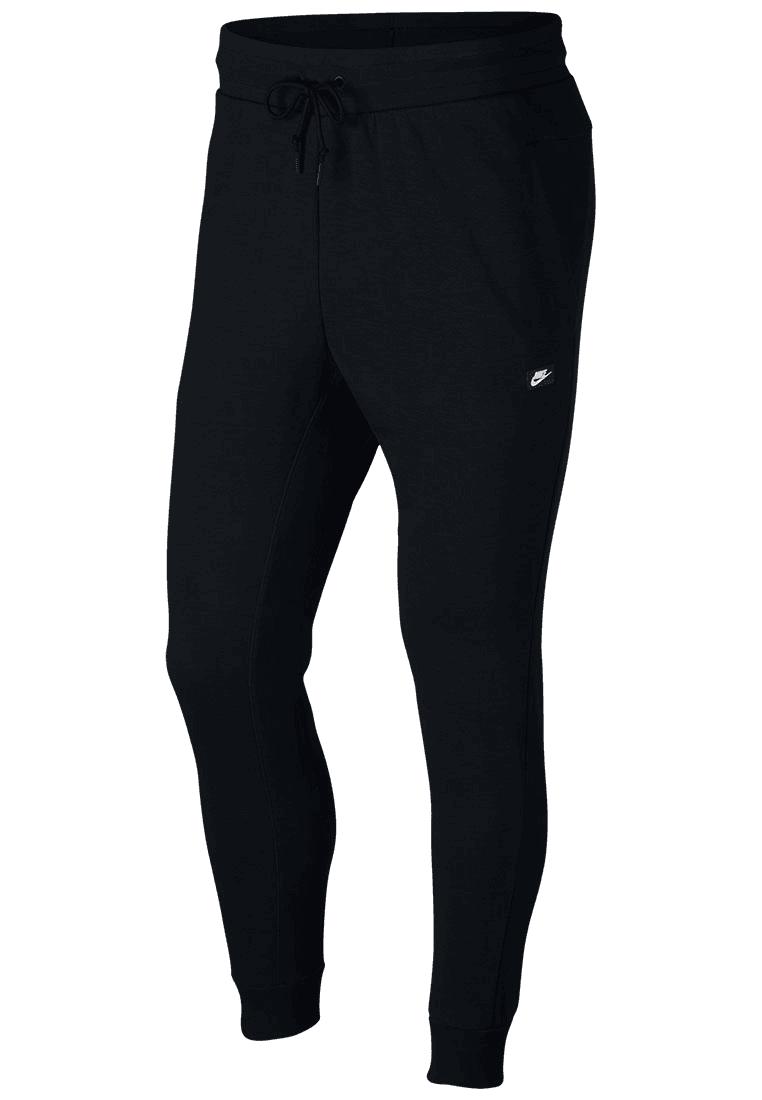 Nike Jogginghose Sportswear Optic Fleece schwarzweiß