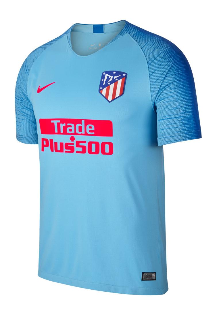 4c5ee060ceb Nike Atlético Madrid Herren Auswärts Trikot 2018/19 blau/dunkelblau Bild 2