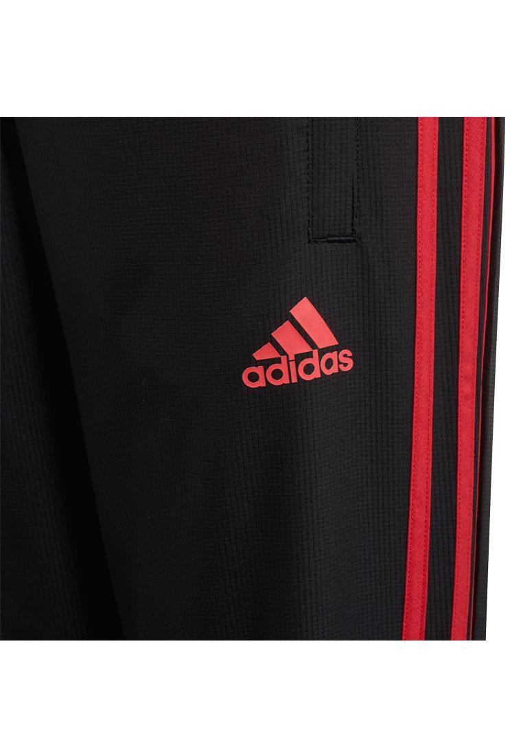 35d73048cf72c9 adidas Manchester United Kinder Trainingshose Woven Pant schwarz rot Bild 6