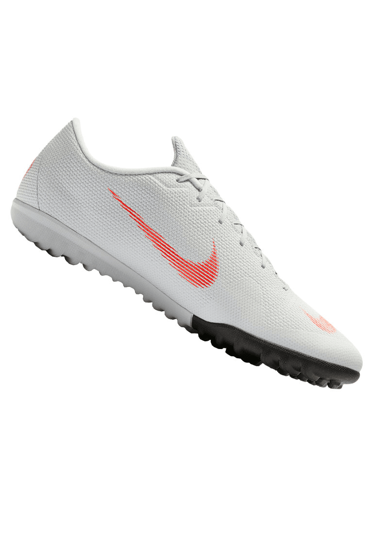 cheaper 26ccc c7543 Nike Fußballschuh Mercurial VaporX XII Academy TF Kunstrasen graurot Bild 2