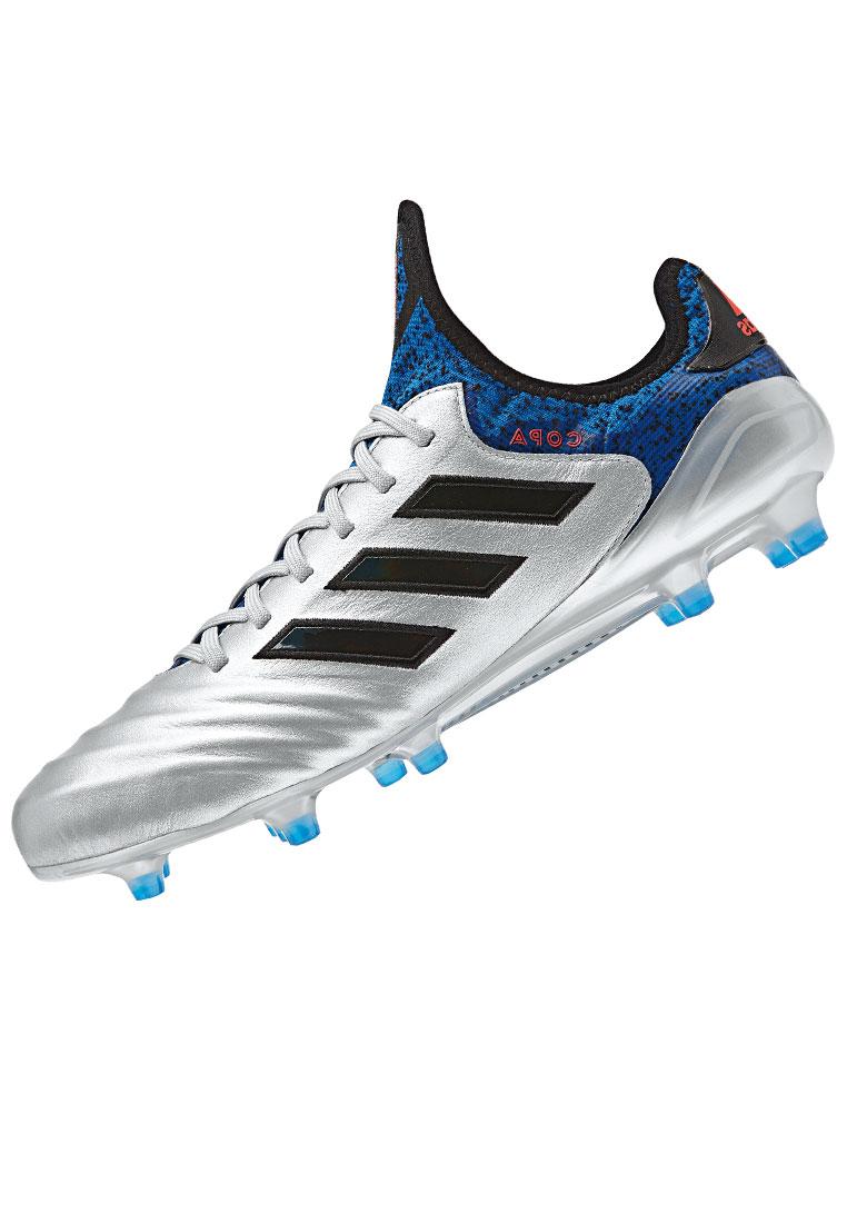 adidas Fußballschuh Copa 18.1 FG silber/blau