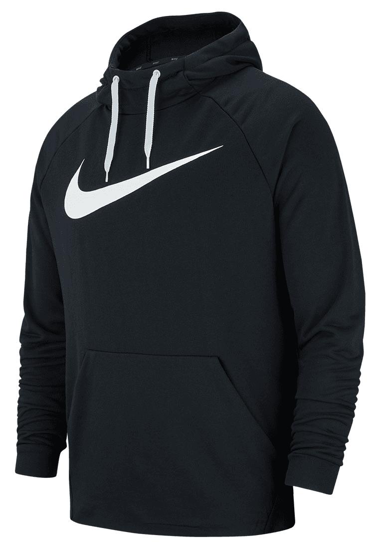 Nike Kapuzenpullover Training Hoody schwarz weiß - Fussball Shop 6cf3b2bf28
