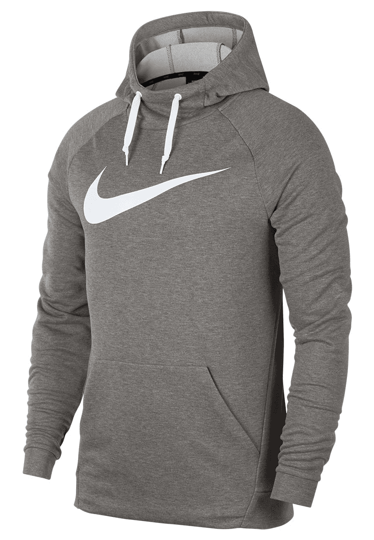 Nike Kapuzenpullover Training Hoody grauweiß