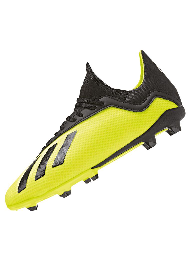 Adidas Fußballschuhe X 18.3 FG, neu, yellow, gelb, 42 23