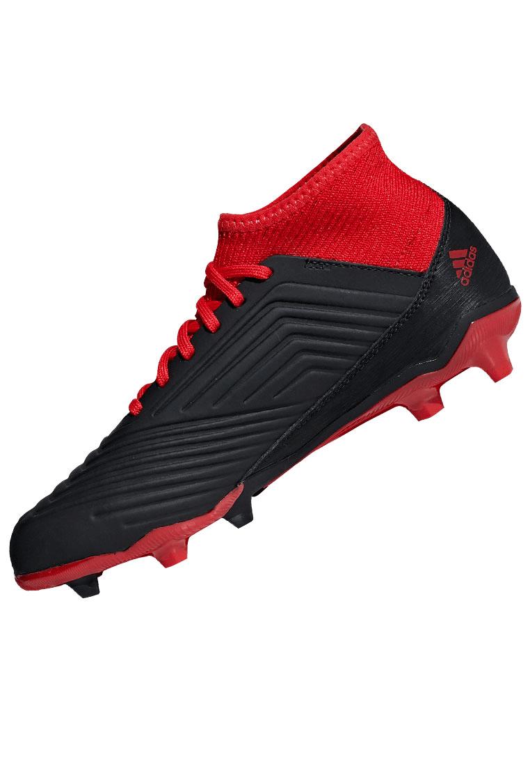 5a1a132e4530ac adidas Kinder Fußballschuh Predator 18.3 FG J schwarz rot - Fussball ...