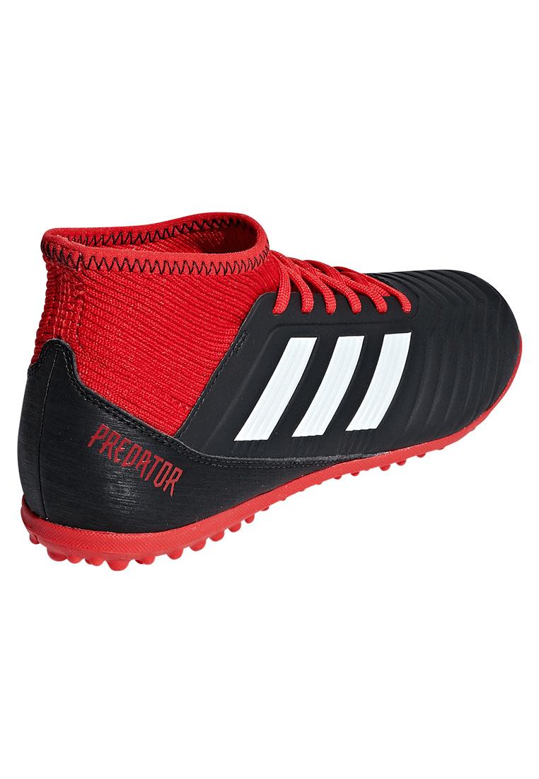 adidas Kinder Fußballschuh Predator Tango 18.3 TF J Kunstrasen schwarzrot
