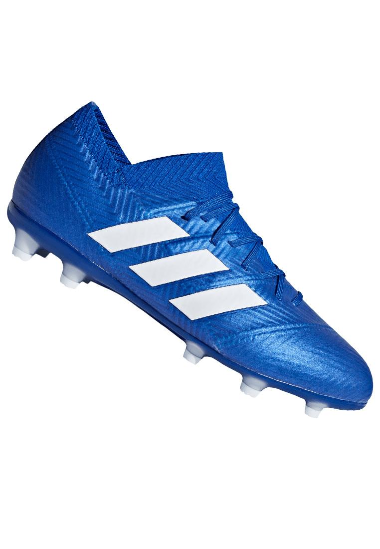 J Fg 1 Fußballschuh Kinder Blauweiß Adidas Nemeziz 18 zMUVpS