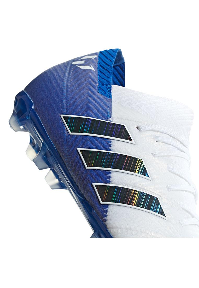 adidas Kinder Fußballschuh Nemeziz Messi 18.1 FG J weißblau