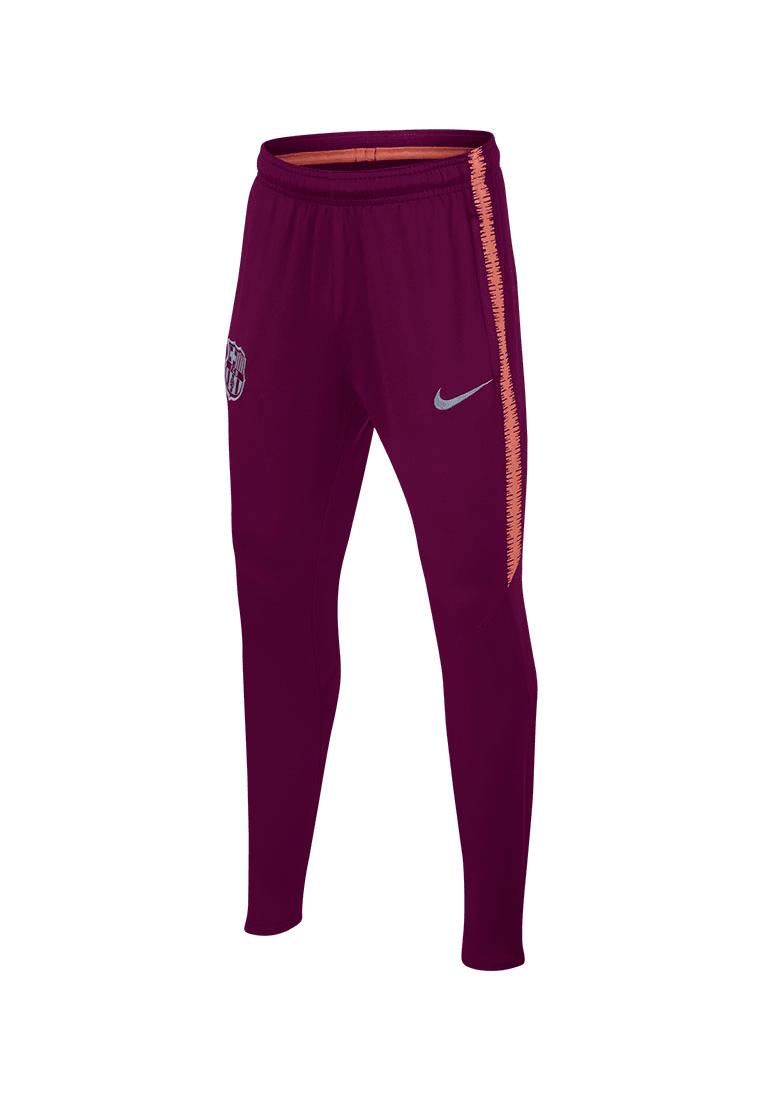 4c0638be94e6e1 Nike FC Barcelona Kinder Trainingshose Squad Pant dunkelrot hellrosa Bild 2