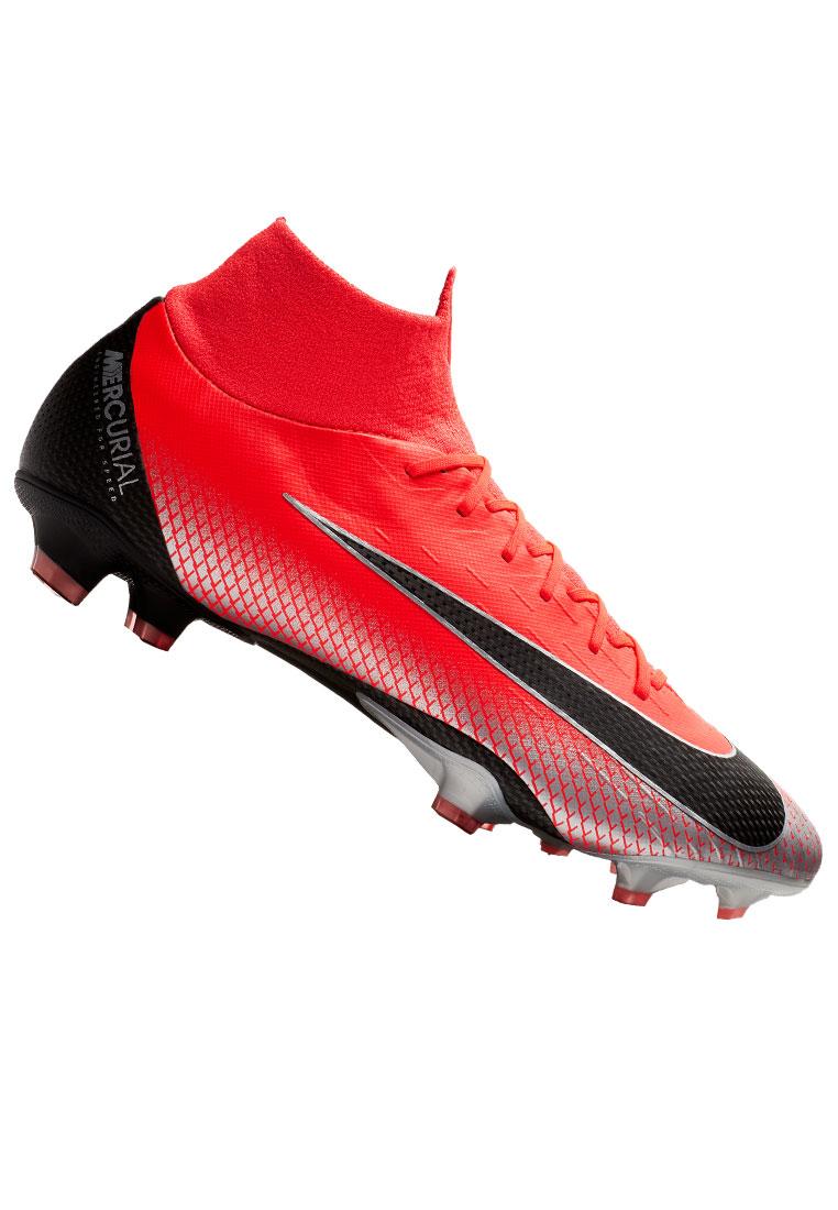 more photos 6b64c fdba9 Nike Fußballschuh Mercurial Superfly VI Pro CR7 FG rotschwarz Bild 2