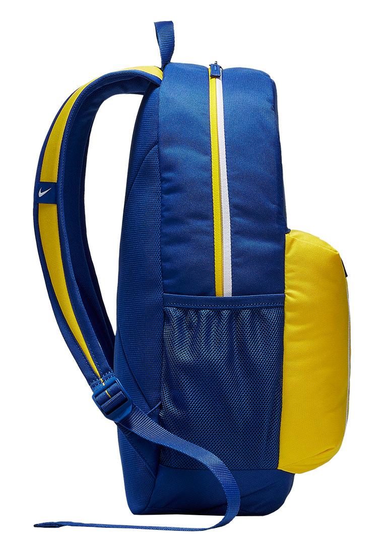 fb934f4b07e Nike Chelsea FC Stadium Backpack rugzak voor kinderen blauw/geel Afbeelding  4