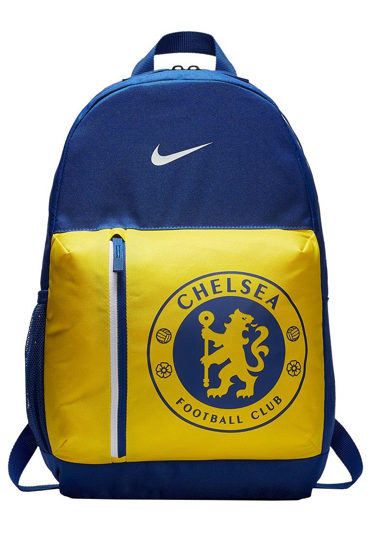 79cb58e151e Nike Chelsea FC Stadium Backpack rugzak voor kinderen blauw/geel Afbeelding  2