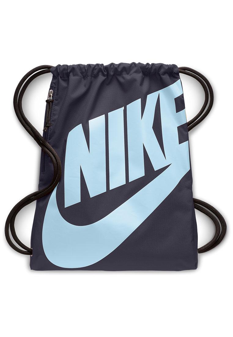 e8b9602dd57b0 Nike Trainingsbeutel Heritage Gym Sack violett hellblau - Fussball Shop