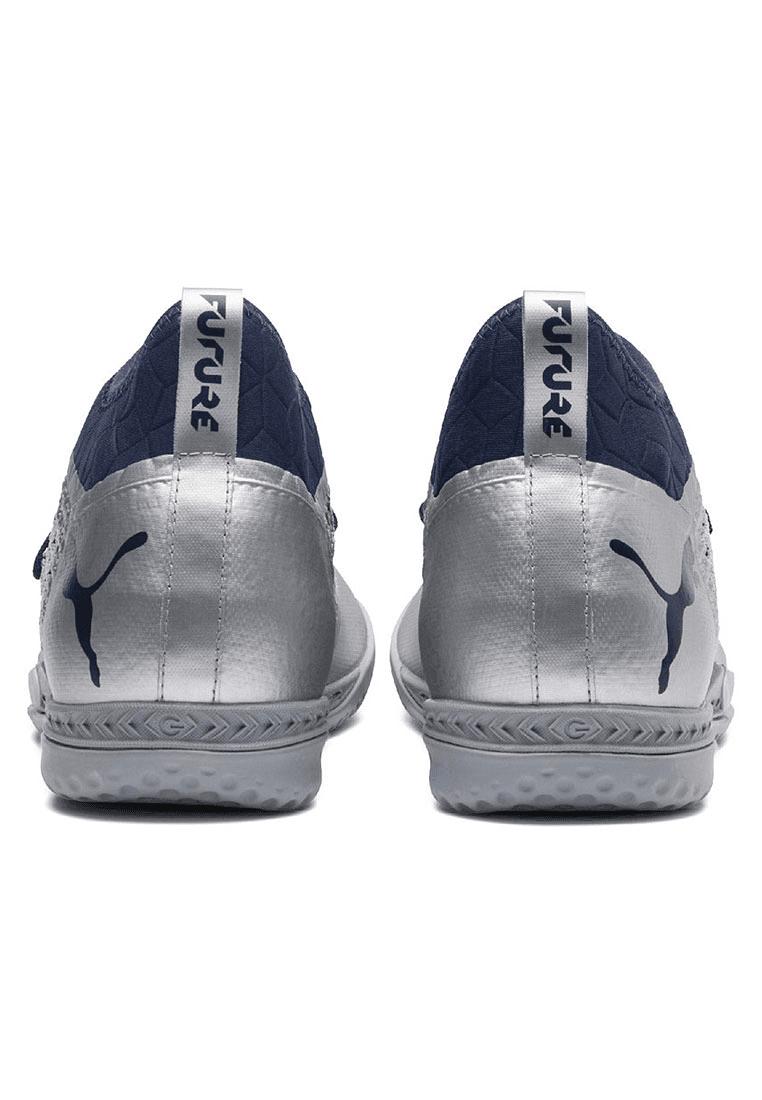 Puma indoorschoenen Future 2.3 Netfit IT zilverdonkerblauw