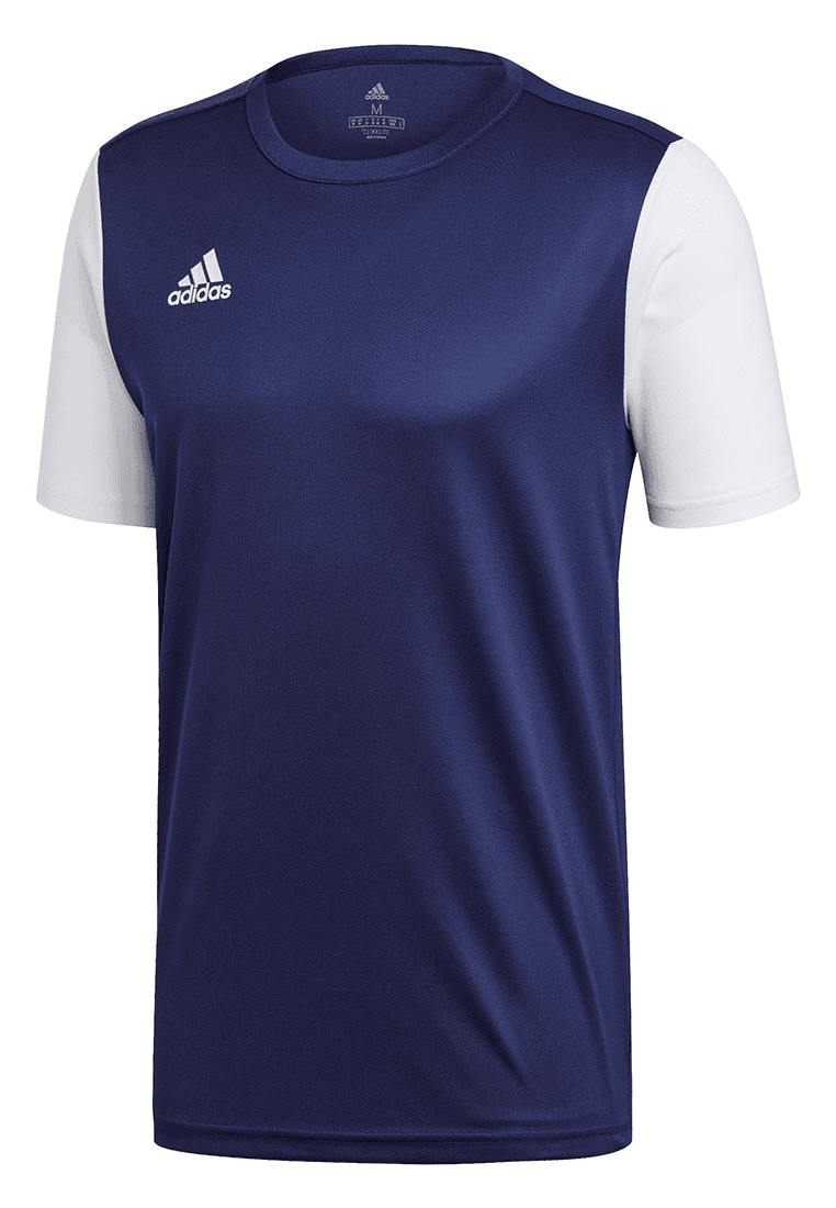 adidas Trikot Estro 19 Jersey dunkelblauweiß