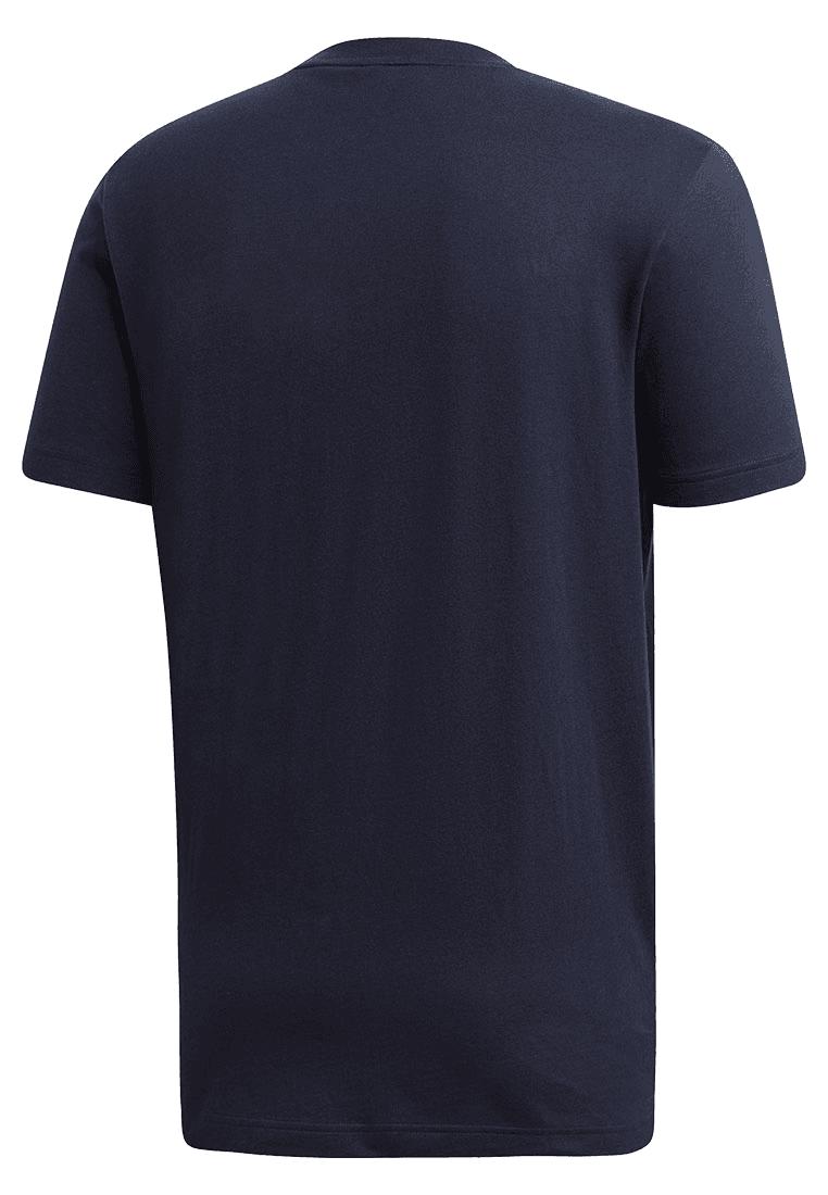 Adidas shirt Must Haves Badge van Sport Tee donkerblauwwit