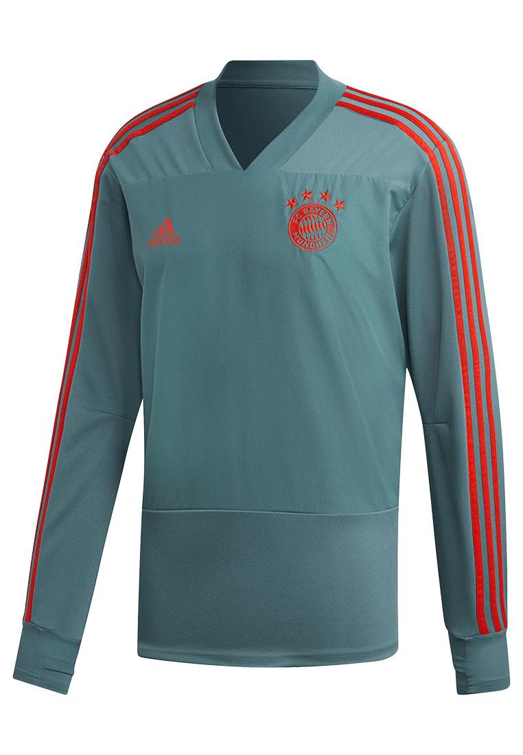 adidas FC Bayern München Trainingsoberteil Top petrolgrünrot