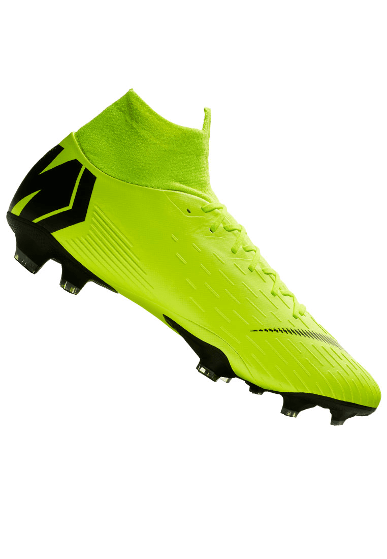 buy popular 7db94 31b74 Nike Fußballschuh Mercurial Superfly VI Pro FG gelb fluoschwarz Bild 2