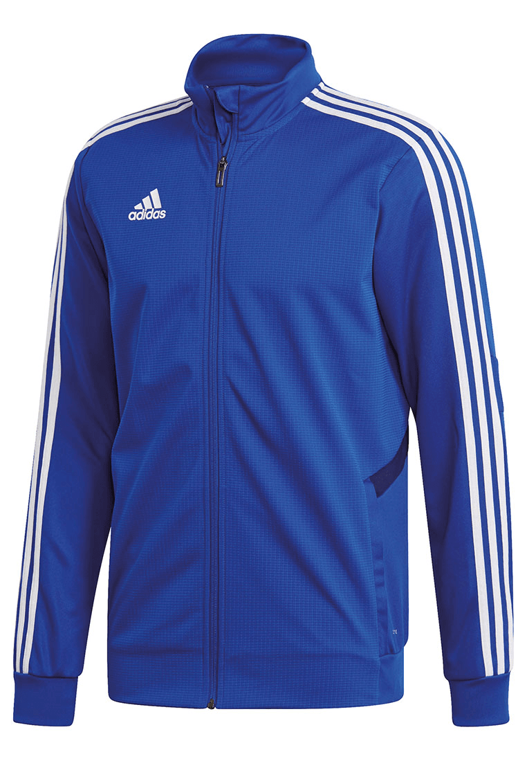 adidas Trainingsjacke Tiro 19 Jacket blauweiß Fussball Shop