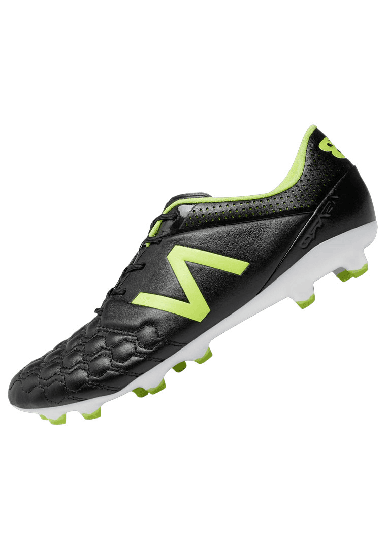 size 40 f3345 fafa9 New Balance Fußballschuh Visaro K Leather FG schwarz/gelb