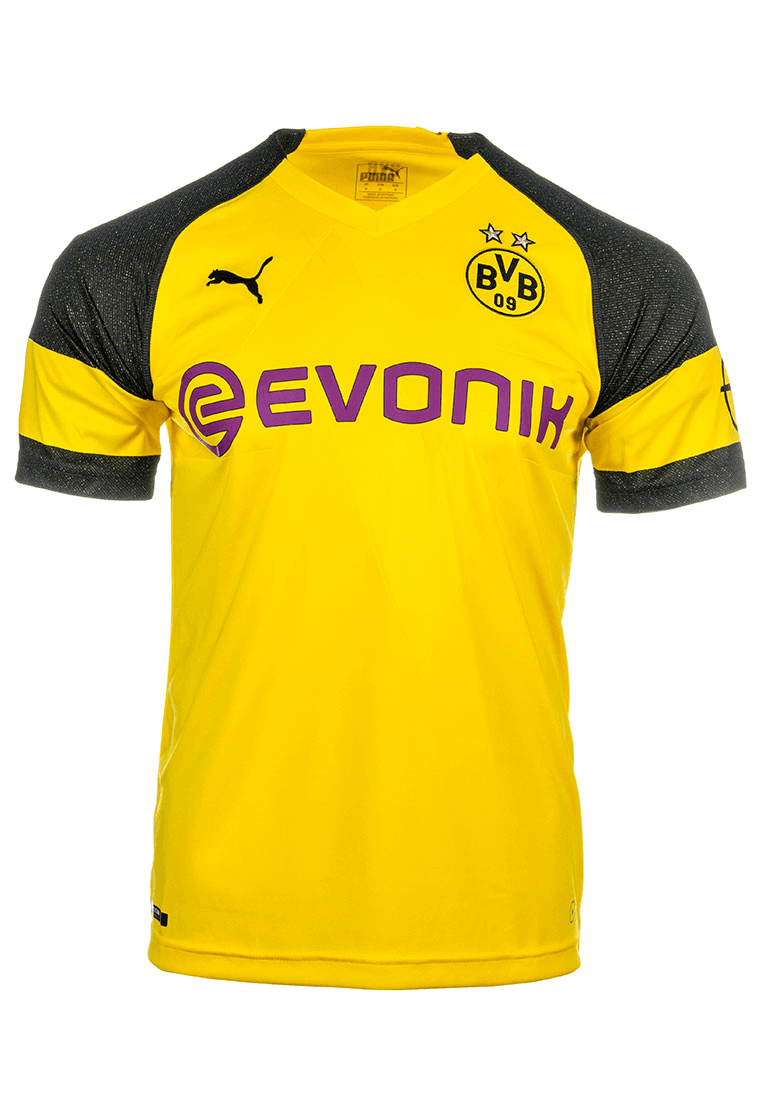 Puma BVB Herren Heim Trikot 201819 gelbschwarz Fussball Shop