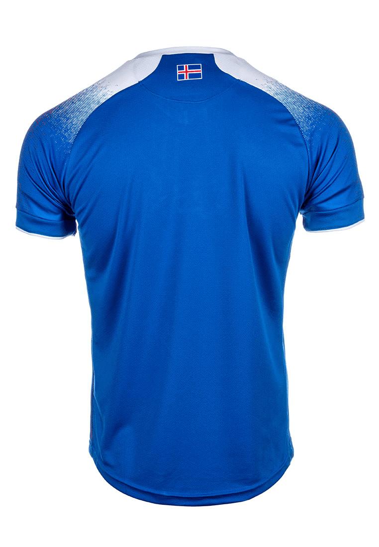 8c79fa78b Errea Iceland Men s Home Jersey WC 2018 blue white - Football Shop