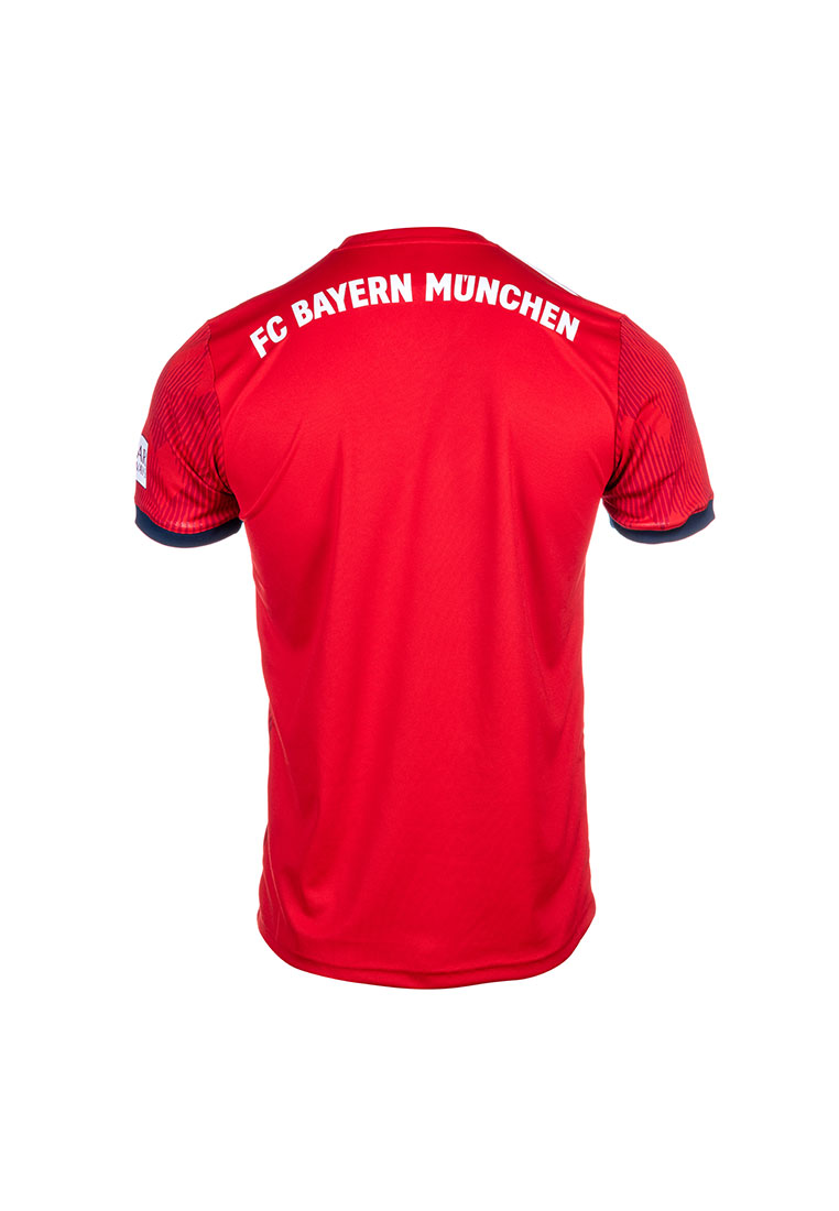 bd45a9e4cf3b73 adidas FC Bayern München Kinder Heim Trikot 2018 19 rot weiß Bild 3