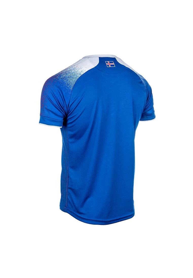 570a7639dcf Errea Iceland Children s Home Jersey WC 2018 blue white - Football Shop