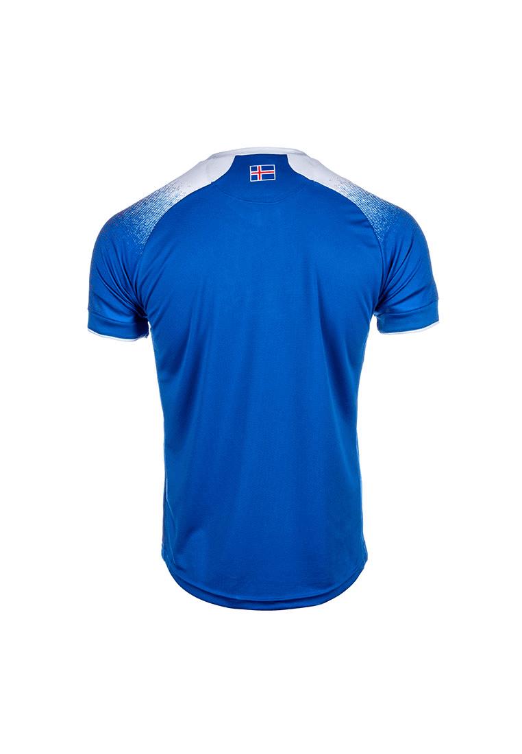 10988aa274b Errea Iceland Children's Home Jersey WC 2018 blue/white - Football Shop