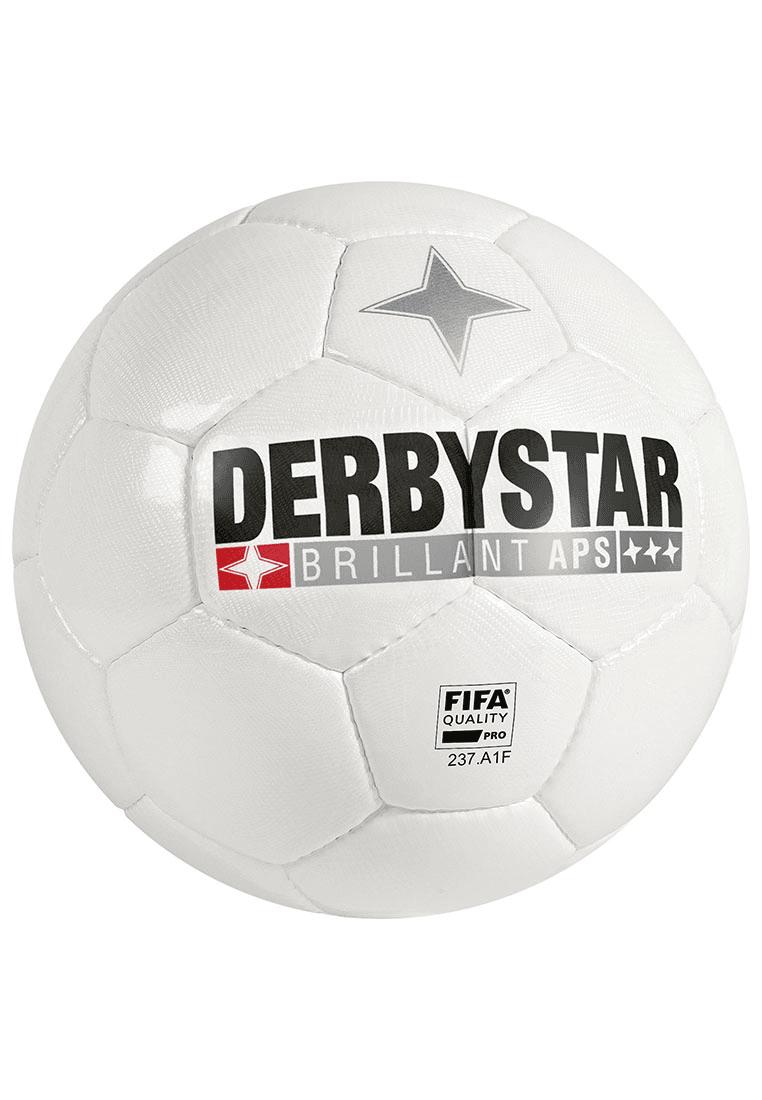 derbystar fu ball brilliant aps gr e 5 wei schwarz. Black Bedroom Furniture Sets. Home Design Ideas