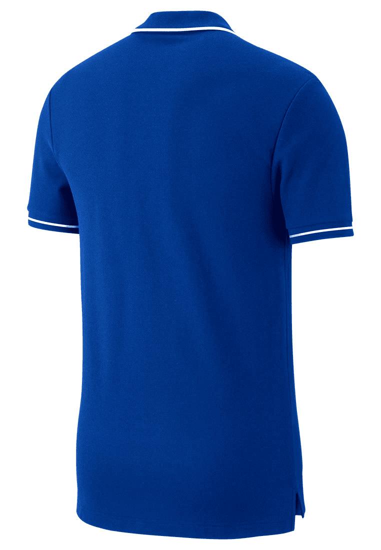 Nike Poloshirt Team Club 19 SS blauweiß