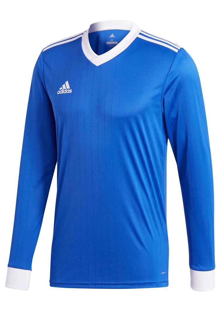 Adidas shirt Tabela 18 shirt met lange mouwen Jersey blauwwit