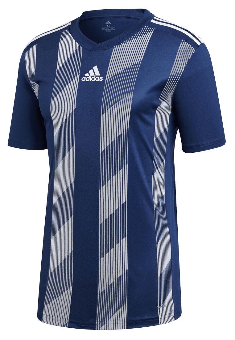 adidas koszulka piłkarska Striped 19 Jersey granatowabiała Sklep piłkarski