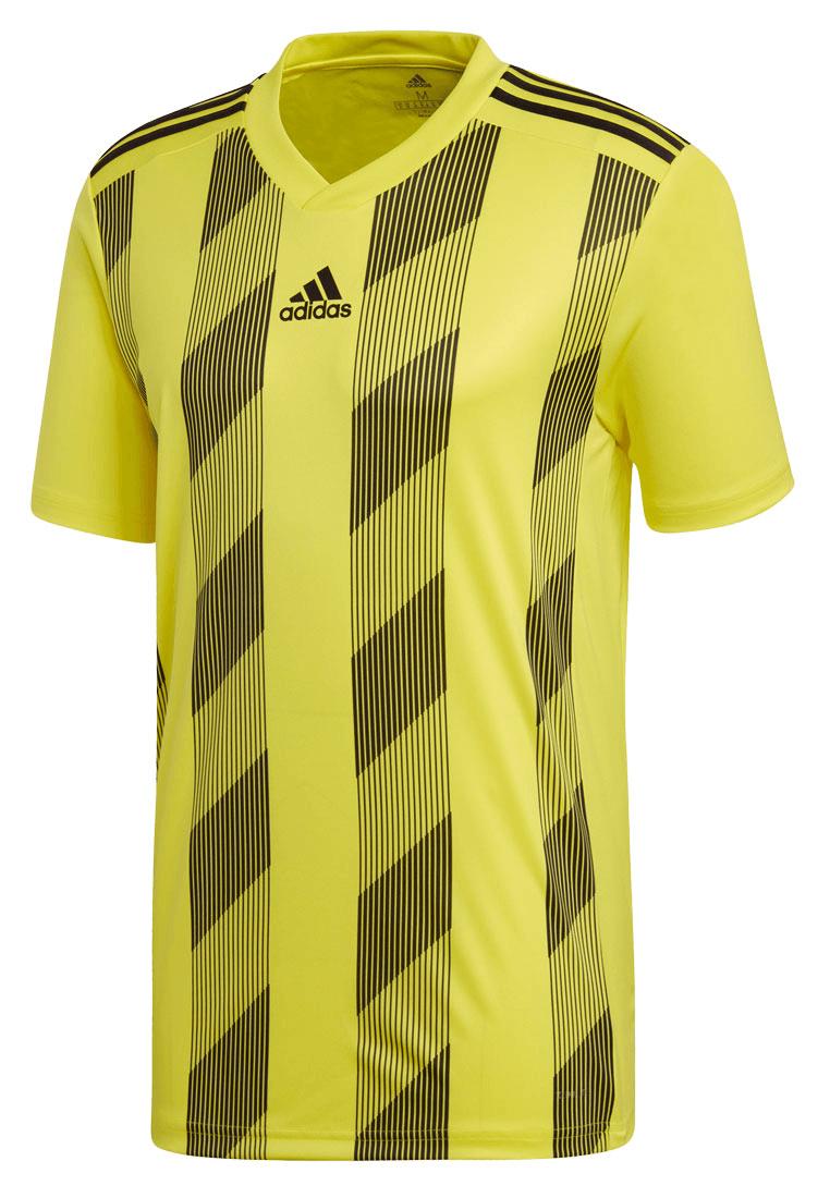 6b3081803746f5 adidas Trikot Striped 19 Jersey gelb schwarz - Fussball Shop