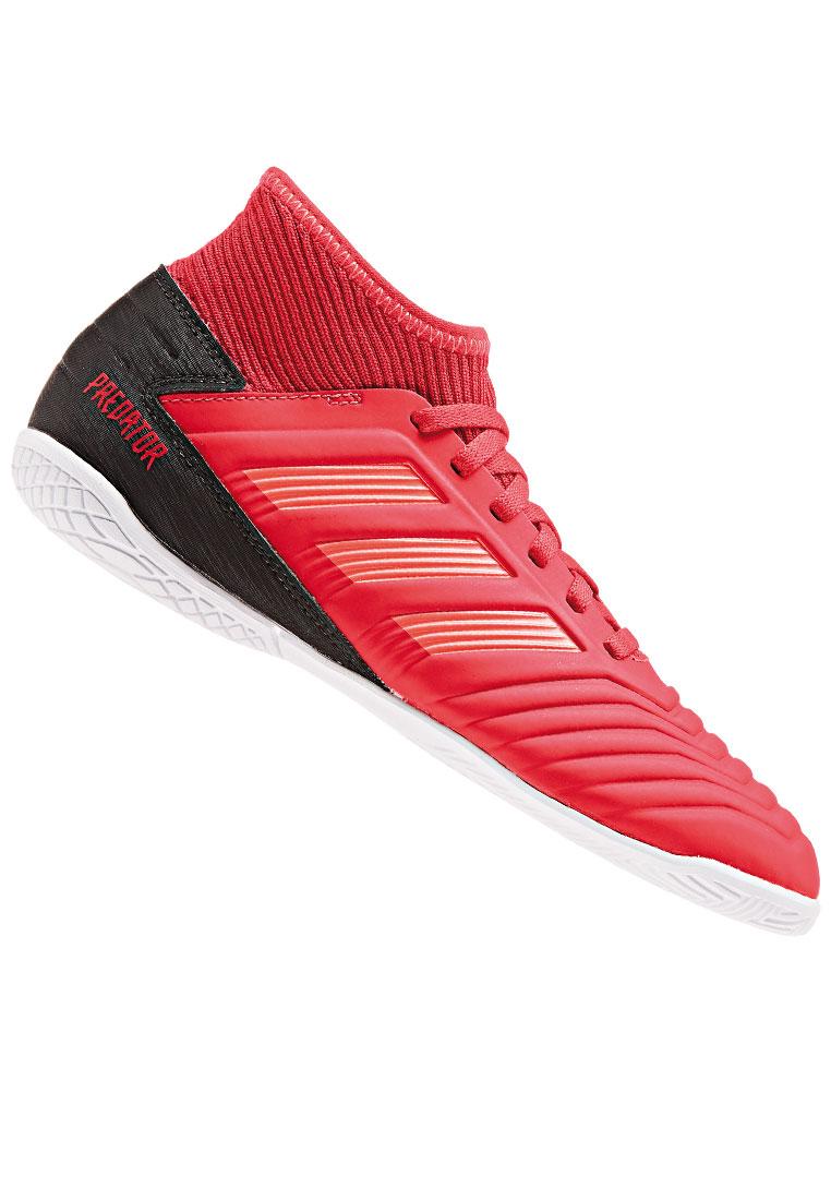 Adidas Kinder Hallenschuh Predator 19 3 In J Rot Schwarz Fussball Shop
