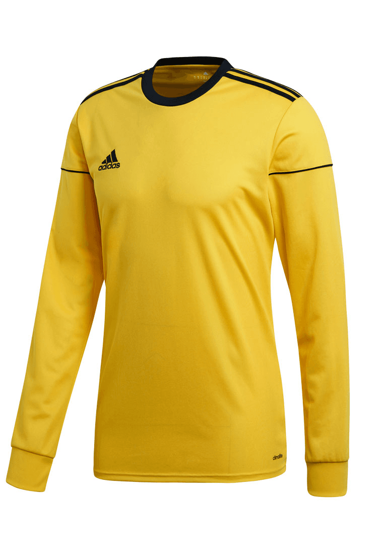 Adidas shirt Squadra 17 lange mouw geelzwart