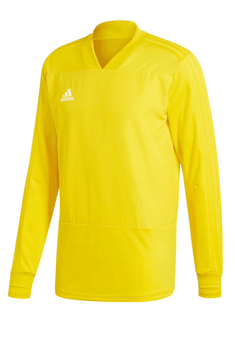 adidas Trainingsoberteil Condivo 18 Training Top gelbweiß